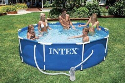 Intex - Migliore piscina da giardino fuori terra per struttura di sostegno supplementare