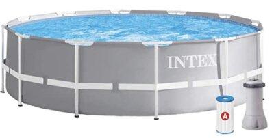 Intex - Migliore piscina da giardino fuori terra rotonda