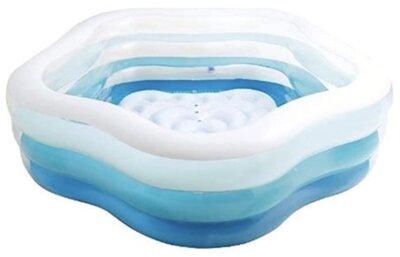Intex - Migliore piscina gonfiabile per lati sagomati e trasparenti