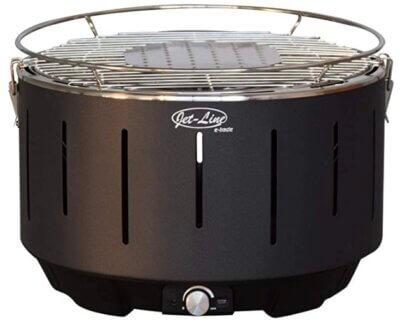 Jet-Line - Migliore barbecue senza fumo per design della griglia