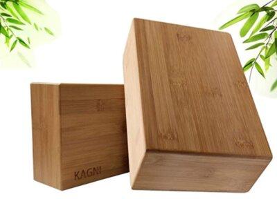 Kagni - Migliori blocchi da yoga in bambù