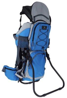 Kangoo - Migliore zaino porta bambino da montagna per cuscino removibile per il pisolino
