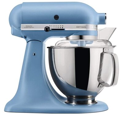 KitchenAid 5KSM175PSEVB - Migliore robot da cucina KitchenAid per colore blu vintage