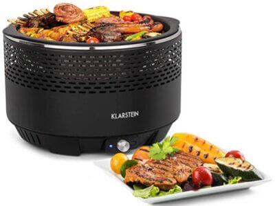 Klarstein - Migliore barbecue senza fumo per griglia extra large