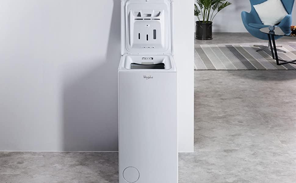 lavatrice whirlpool carica dall'alto