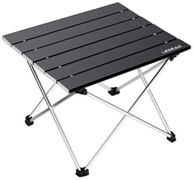 Ledeak - Migliore tavolino pieghevole da campeggio per superficie a soffietto