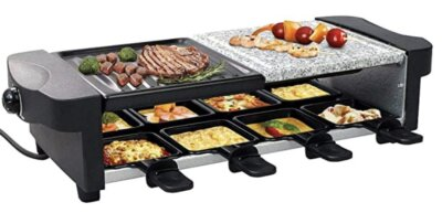 Leogreen - Migliore barbecue da tavolo elettrico 3 in 1