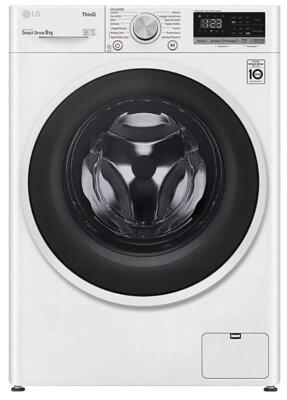 LG F4WT408AIDD - Migliore lavatrice con asciugatrice per connettività Wi-Fi e applicazione SmartThinQ
