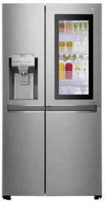 LG GSI961PZAZ - Migliore frigorifero americano side by side per pannello in vetro luminoso