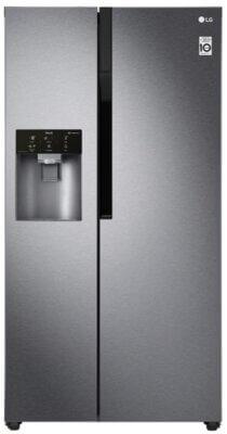 LG GSL361ICEZ - Migliore frigorifero LG side by side americano senza allaccio alla rete idrica