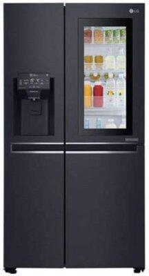 LG GSX961MCVZ - Migliore frigorifero americano side by side di colore nero