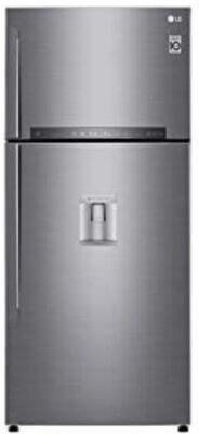 LG GTF744PZPZD - Migliore frigorifero LG doppia porta per dispenser acqua con tanica interna