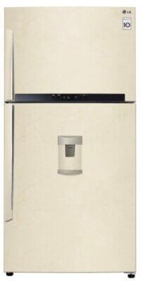 LG GTF925SEPM - Migliore frigorifero LG doppia porta per color sabbia