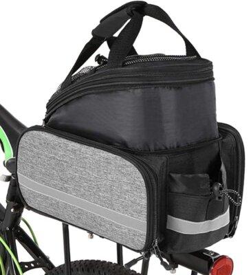 Lixada - Migliore borsa per bici per tasche laterali estensibili