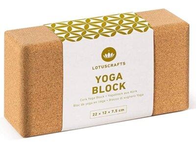 Lotuscrafts - Migliore blocco da yoga per due grandezze disponibili