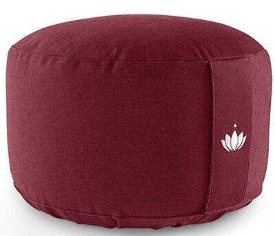 Lotuscraftss - Migliore cuscino da meditazione per pula di farro biologica