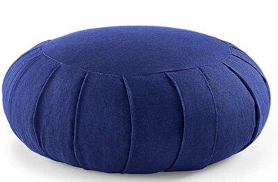 Lotuscraftss - Migliore cuscino da meditazione riempito con farroV
