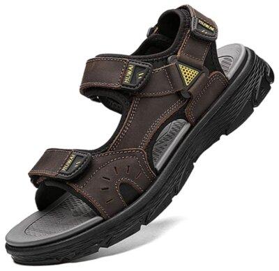 Lvptsh - UOMO - Migliori sandali da trekking per suola in gomma antiforatura e antiscivolo