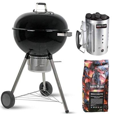 MasterCook - Migliore barbecue da giardino per carbonella e accenditore inclusi nella confezione