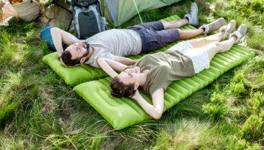 materasso gonfiabile da campeggio