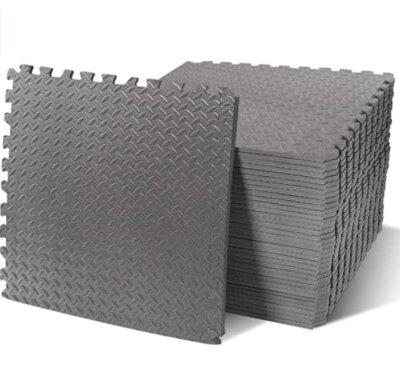 MathRose - Migliore pavimento in gomma per palestra per colore grigio