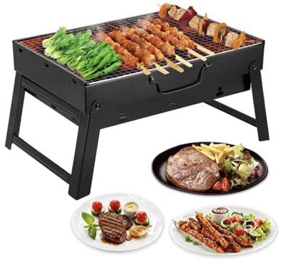 Mbuynow - Migliore barbecue da tavolo per gambe pieghevoli