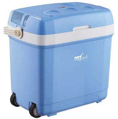 Melchioni - Migliore frigo portatile da campeggio per sistema di blocco del coperchio