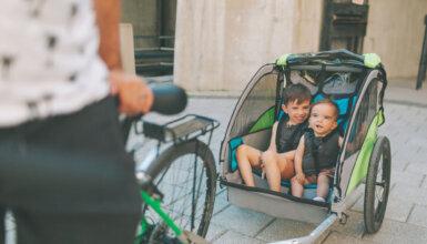 Migliore rimorchio bici per bambini