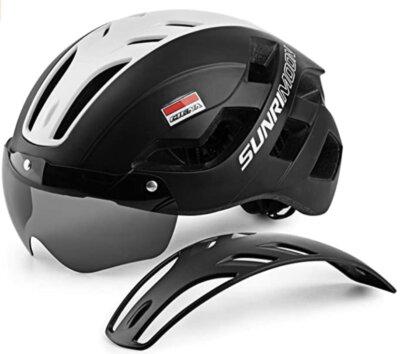 Mokfire - Corsa - Migliore casco da bici per pannello rimovibile