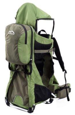 Montis Outdoor - Migliore zaino porta bambino da montagna per accessori