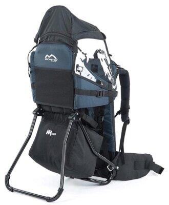 Montis Outdoor - Migliore zaino porta bambino da montagna per telaio in alluminio imbottito