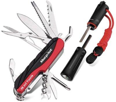 Morpilot - Migliore coltellino svizzero per pietra focaia