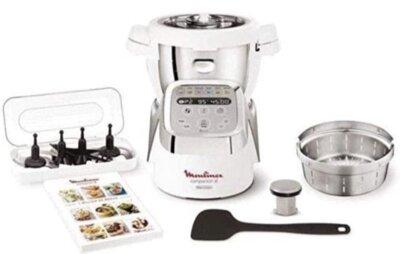 Moulinex Companion XL - Migliore robot da cucina Moulinex per 12 programmi con sottoprogrammi