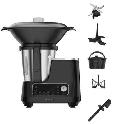 Moulinex HF4568 Click Chef - Migliore robot da cucina Moulinex per interfaccia intuitiva