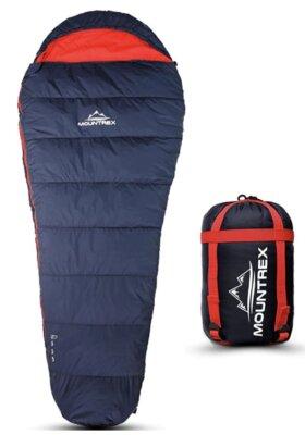 Mountrex - Migliore sacco a pelo singolo per nylon 380T