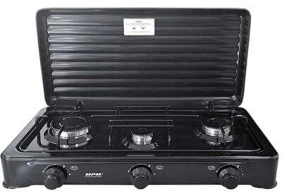 MPM - Migliore fornello a gas da campeggio con tre fuochi
