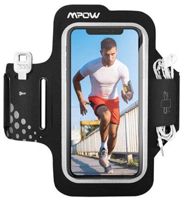 Mpow - Migliore fascia da braccio per running per compatibilità