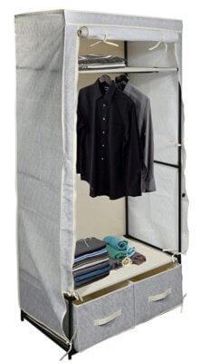 MSV - Migliore armadio pieghevole da campeggio per due cassetti