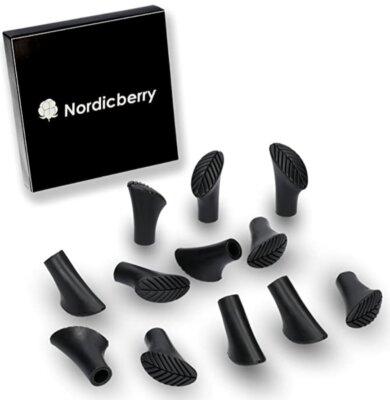 Nordicberry - Migliori gommini per bastoncini da nordic walking