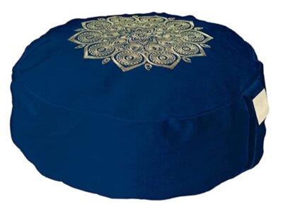 Om Vita - Migliore cuscino da meditazione per mandala color oro realizzato a mano