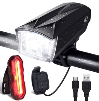 OMERIL - Migliore luce per bici girevole a 360°