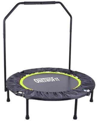 ONETWOFIT - Migliore mini trampolino elastico da fitness per molle ultra spesse