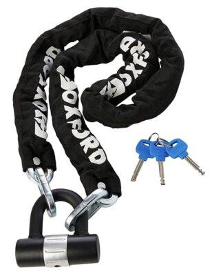 Oxford - Migliore catena antifurto per bici per meccanismo a doppio blocco anti scassinamento