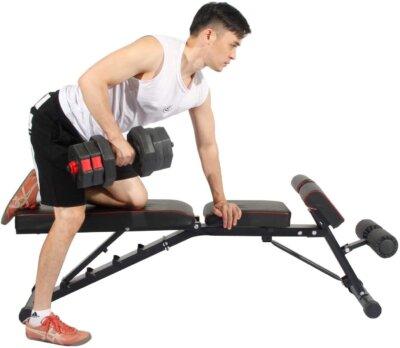 panca multifunzione pesi e fitness