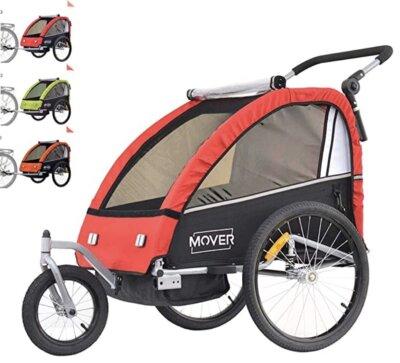 Papilioshop - Migliore rimorchio bici per bambini per ruote posteriori da 20 pollici ammortizzate