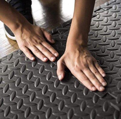 pavimenti in gomma per palestra