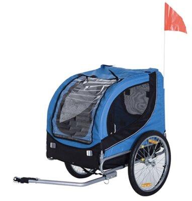 PawHut - Migliore rimorchio bici per bambini per animali domestici