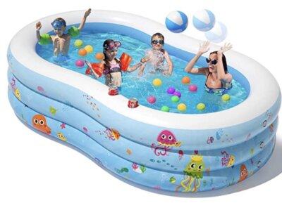 Peradix - Migliore piscina gonfiabile per design incassato a forma di otto