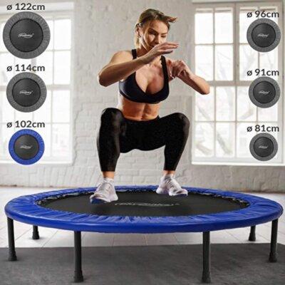 Physionics - Migliore mini trampolino elastico da fitness per varietà di diametri