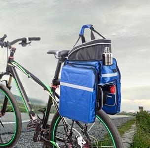 portapacchi per bici cicloturismo